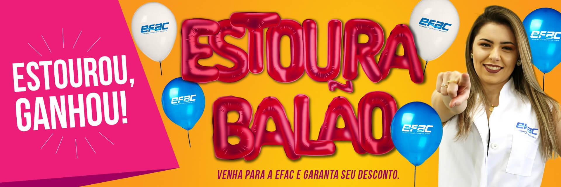 Banner Promoção Estoura Balão