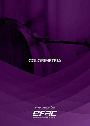 Capa apostila Colorimetria