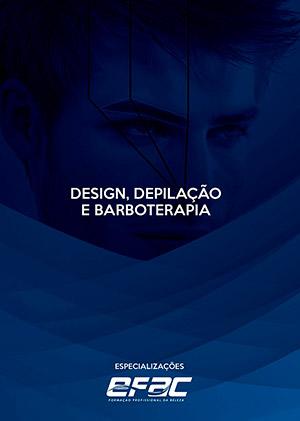 Capa apostila Design, Depilação e Barboterapia