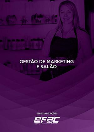 Capa apostila Gestão de Marketing e Salão