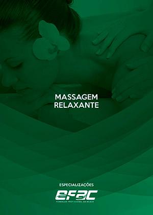 Capa apostila Massagem Relaxante