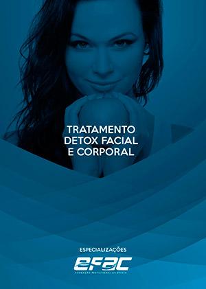 Capa apostila Tratamento Detox Facial e Corporal